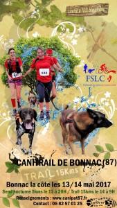 Affiche Canitrail Bonnac - Ok-Time